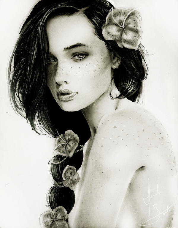 .:Katniss by IsaiahStephens