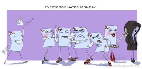 Everybody hates Monday by IsaiahStephens