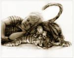 Cat Naps: Calvin and Hobbes