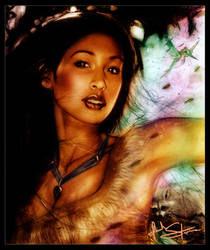 .Pocahontas by IsaiahStephens