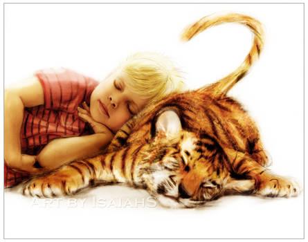 Cat Naps: Calvin and Hobbes. by IsaiahStephens