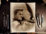 Hawkeye Sketch