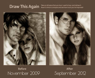 Redraw: James and Lily by IsaiahStephens