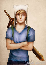 Finn the Human by IsaiahStephens