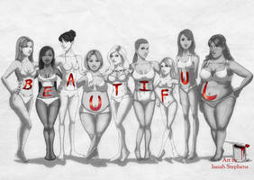 Beautiful Body Types by IsaiahStephens