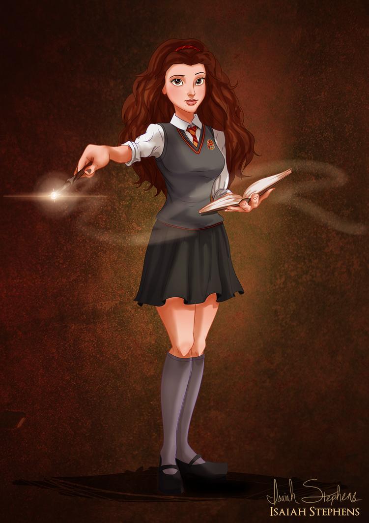 disney halloween belle by isaiahstephens