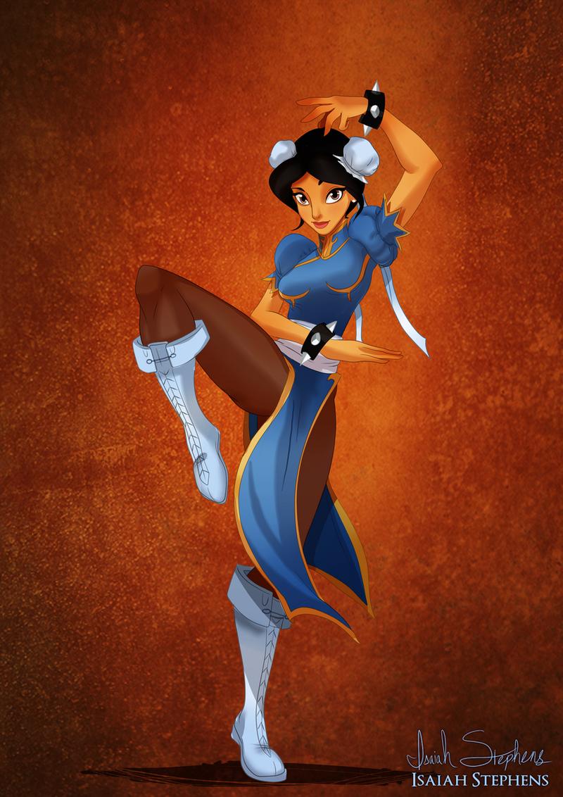 Disney Halloween: Jasmine by IsaiahStephens