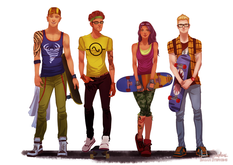All grown up Rocket Power! by IsaiahStephens ...  sc 1 st  DeviantArt & All grown up: Rocket Power! by IsaiahStephens on DeviantArt