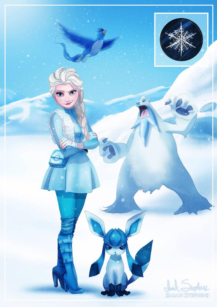 Gym Leader Elsa by IsaiahStephens
