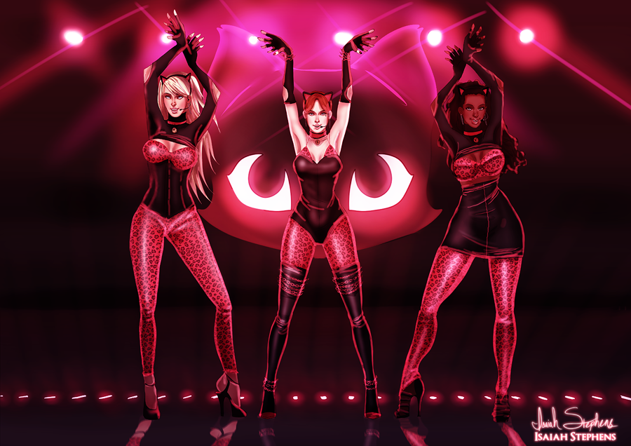 Techno Josie And the Pussycats by IsaiahStephens