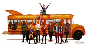 All Grown Up: The Magic School Bus