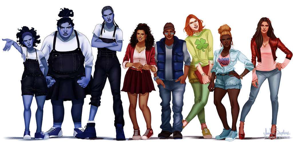 Anime Characters Grown Up : All grown up the proud family by isaiahstephens on deviantart