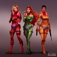 All Grown Up: Totally Spies by IsaiahStephens