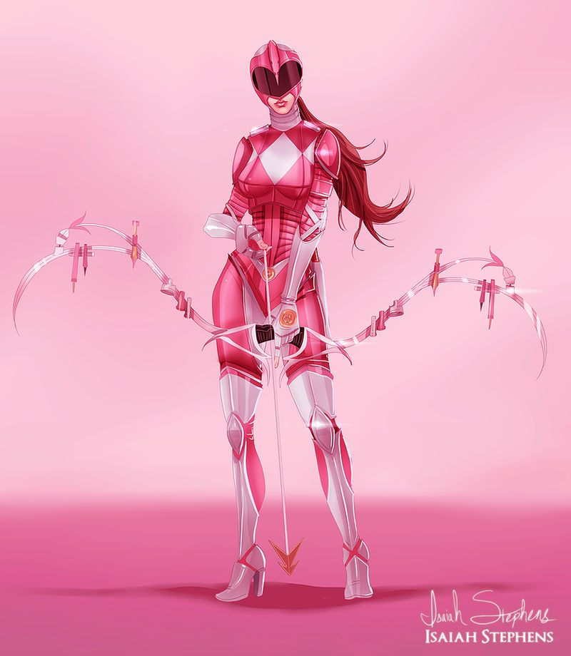 Pink Ranger by IsaiahStephens