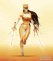 Yellow Ranger by IsaiahStephens