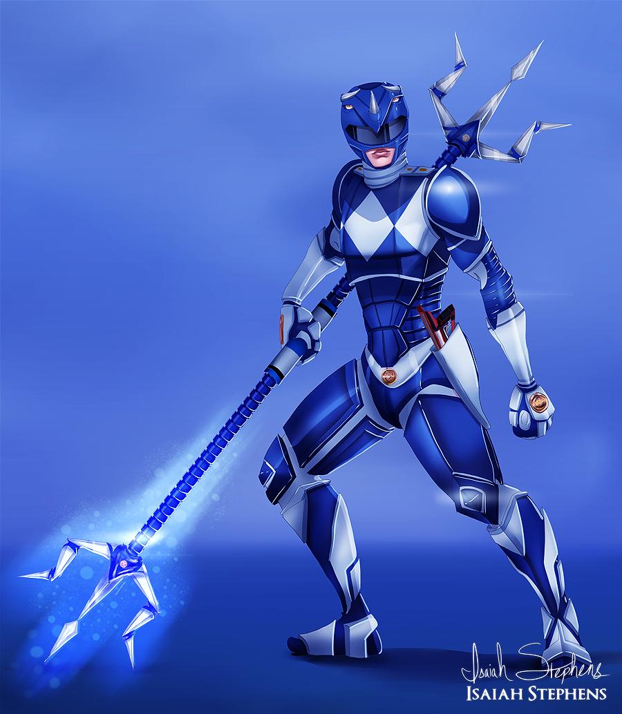 Blue Ranger by IsaiahStephens