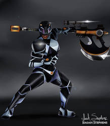 Black Ranger by IsaiahStephens