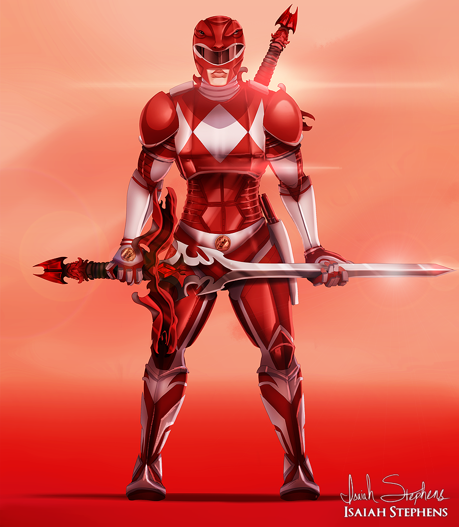 Red Ranger by IsaiahStephens