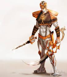 White Ranger by IsaiahStephens