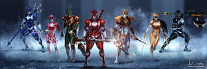 Go Go Power Rangers!!