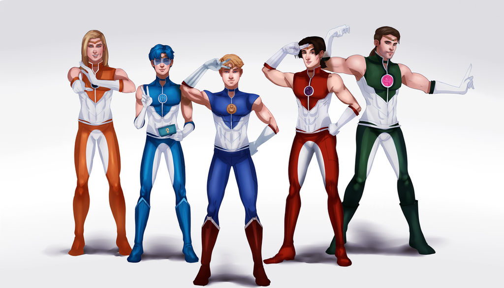 Sailor Scouts Genderbend by IsaiahStephens