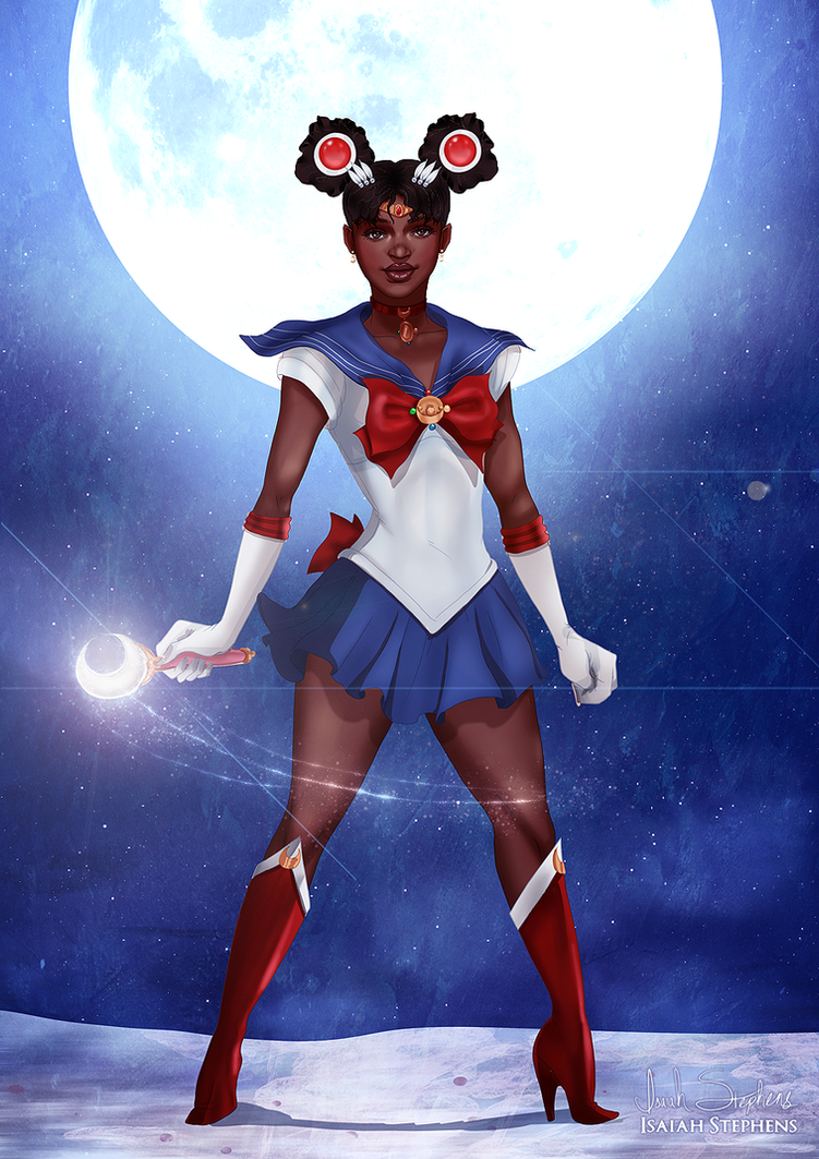 Black sailor moon costume