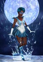 Black Sailor Mercury by IsaiahStephens