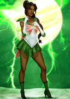 Black Sailor Jupiter by IsaiahStephens