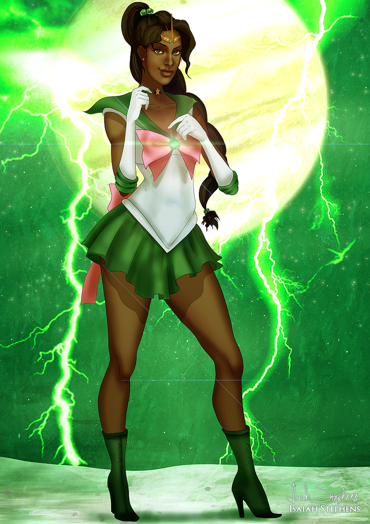 Black Sailor Jupiter by IsaiahStephens