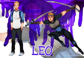 Human Ninja Turtles: Leo by IsaiahStephens