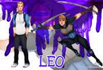 Human Ninja Turtles: Leo