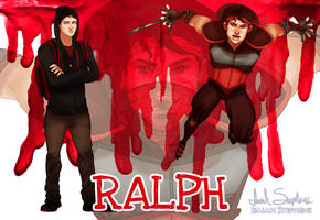 Human Ninja Turtles: Ralph by IsaiahStephens