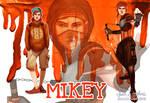 Human Ninja Turtles: Mikey