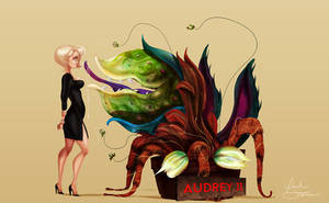 Audrey x2 by IsaiahStephens