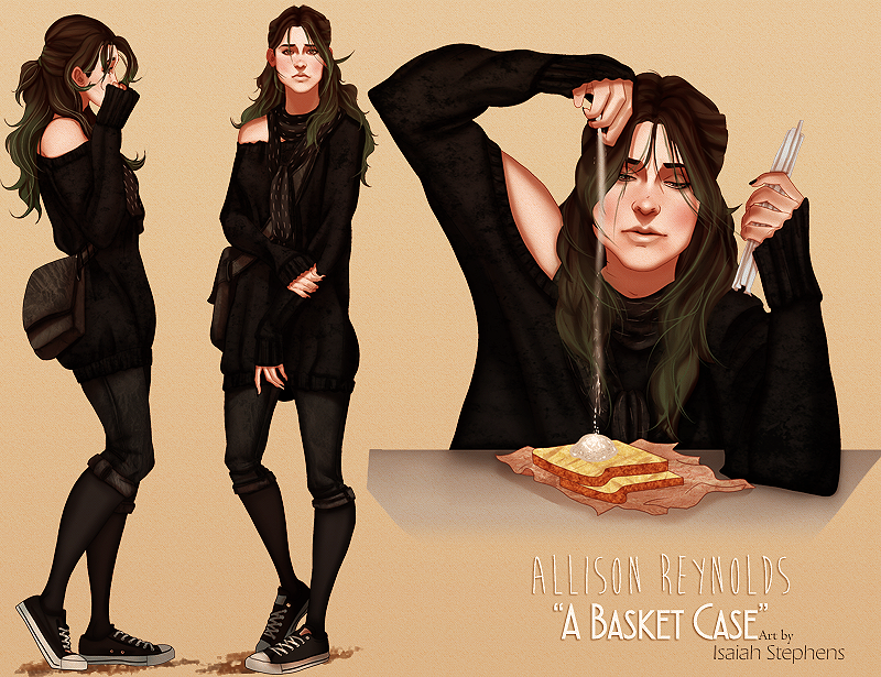 Modern Breakfast Club: Allison by IsaiahStephens