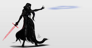 Female Kylo Ren by IsaiahStephens