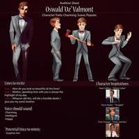 Oz Audition Sheet