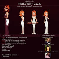 Tibby Audition Sheet