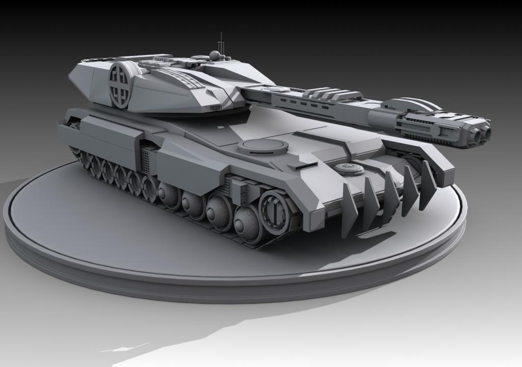 Geodosian Reclaimer Tank by DeltaCadimus