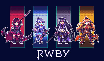 Team RWBY by Nijiyama