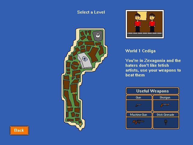 Angry Signs vs. the Haters - World 1 Levels by Belinda-Emily-Back