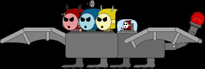 AS:BE Boss - The Robotic Elemental Dragon