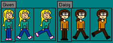 Common - Gwen and Daisy Sprite Sheet