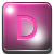 D - Pink Icon
