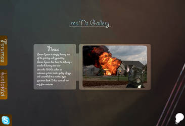 First website desing :) by maTis231