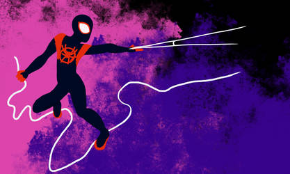 Miles Morales (Into The Spiderverse) by DragonStar117