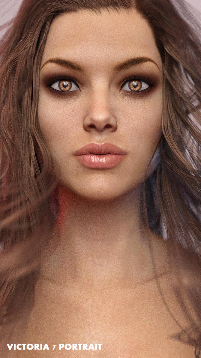 Victoria 7 Portrait by AstuceMan