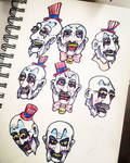 Cap'n Spaulding heads