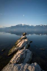 Lake Geneva by Bibwue