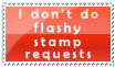Flashy stamp requests? Nope. by Love-Murder